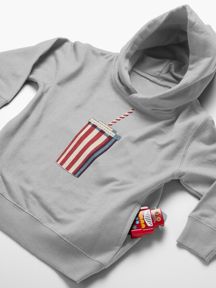 Alternate view of FAST FOOD / Softdrink Toddler Pullover Hoodie