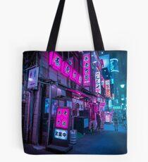 Small streets of Shinjuku Tote Bag