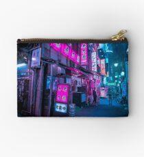 Small streets of Shinjuku Zipper Pouch