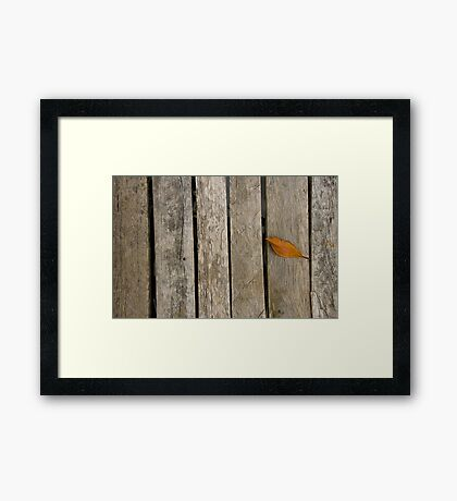 Yellonely Framed Print