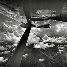 Flight over Myanmar by laurentlesax