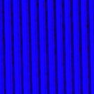 Vertical Blue Abstract by schiabor