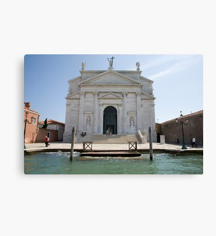 Redentore Church in Venice, Italy. Canvas Print
