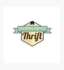 Summoners Thrift Photographic Print