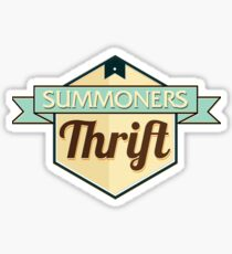 Summoners Thrift Sticker