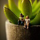 Happy Miniature People by fruitfulart
