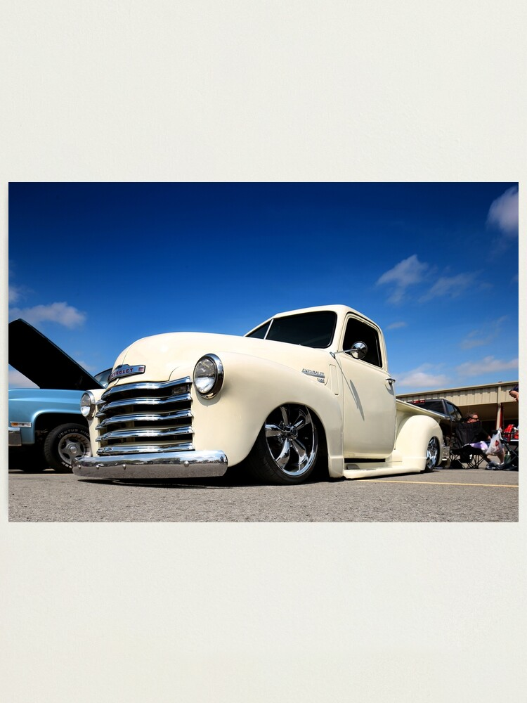 Bagged 1947 Chevy 3100 Pickup Truck 1 Photographic Print By Mal
