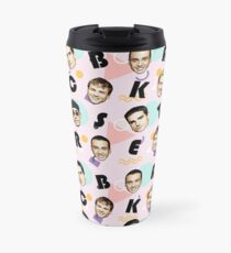 BackstreetBoys Vintage Kunst Thermobecher