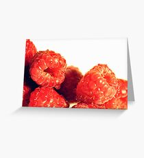 Wild Raspberries Greeting Card