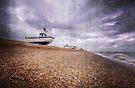 Fishing Boats at Dungeness by Nigel Bangert