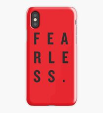 FEAR LESS. iPhone Case/Skin