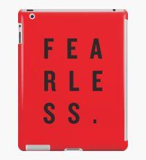 FEAR LESS. iPad Case/Skin