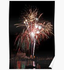 Boothbay Harbor Lights Poster