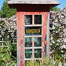 Phonebox with Jasmine. Sugar? by Graham E Mewburn