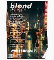 Frank Ocean - Blondes Plakat Poster