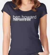 Ben Howard I Forget Women's Fitted Scoop T-Shirt