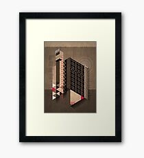 Trellick Tower Framed Print
