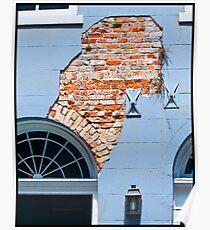 French Quarter Facade Poster