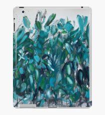 Blaugrün botanisch iPad-Hülle & Skin