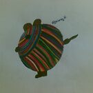 mouse with stripes by briony heath