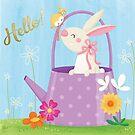 Spring bunny by Angela Sbandelli