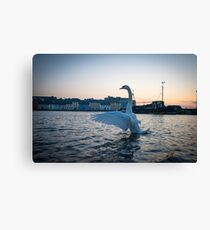 Salute To The Rising Sun, Galway Canvas Print