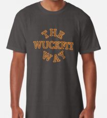 "Live your life ""The Wuckfit Way"" Long T-Shirt"