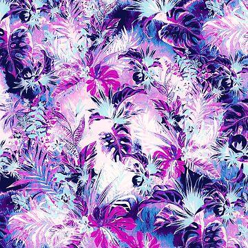 Tropischer Himmel Lila von rizapeker