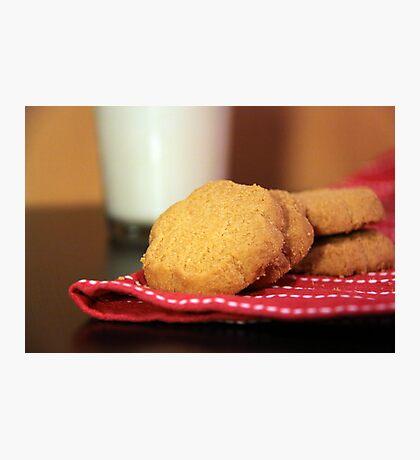 Cookies and Milk Photographic Print
