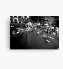 Hanoi: it's all a blur! Canvas Print