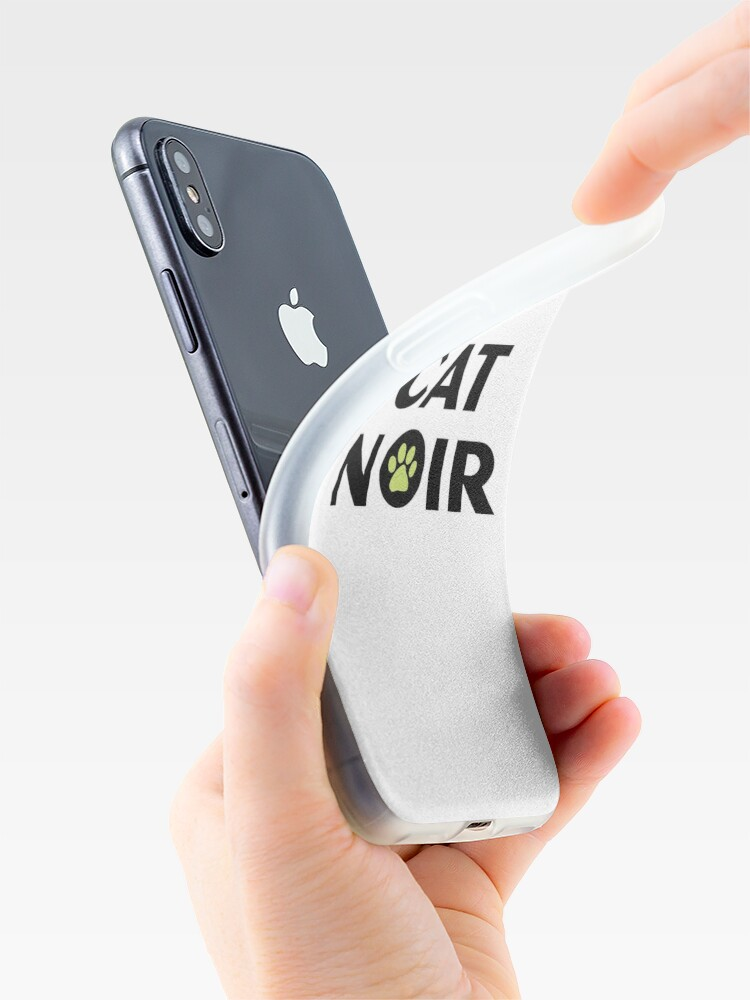 Alternative Ansicht von Miraculous Black Cat Noir iPhone-Hülle & Cover