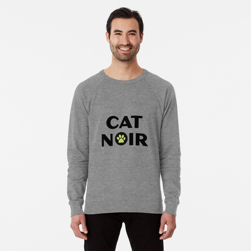 Miraculous Black Cat Noir Leichter Pullover