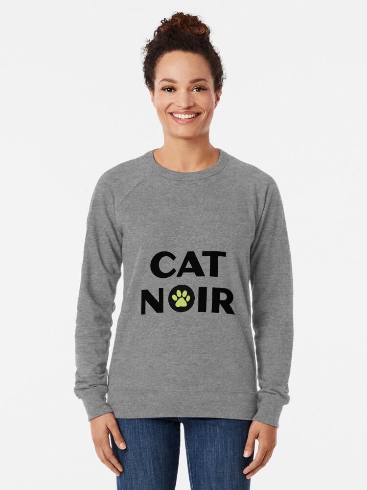Alternative Ansicht von Miraculous Black Cat Noir Leichter Pullover