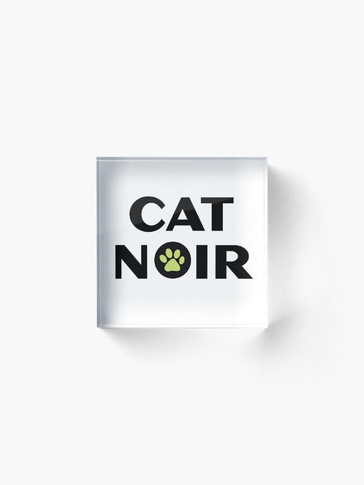 Alternative Ansicht von Miraculous Black Cat Noir Acrylblock