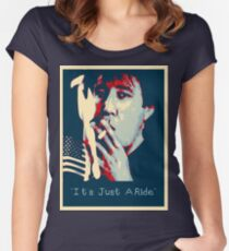 Bill Hicks - It's Just A Ride Tee Women's Fitted Scoop T-Shirt
