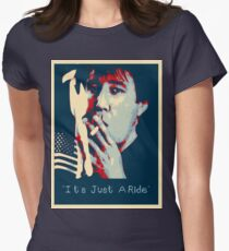Bill Hicks - It's Just A Ride Tee Womens Fitted T-Shirt