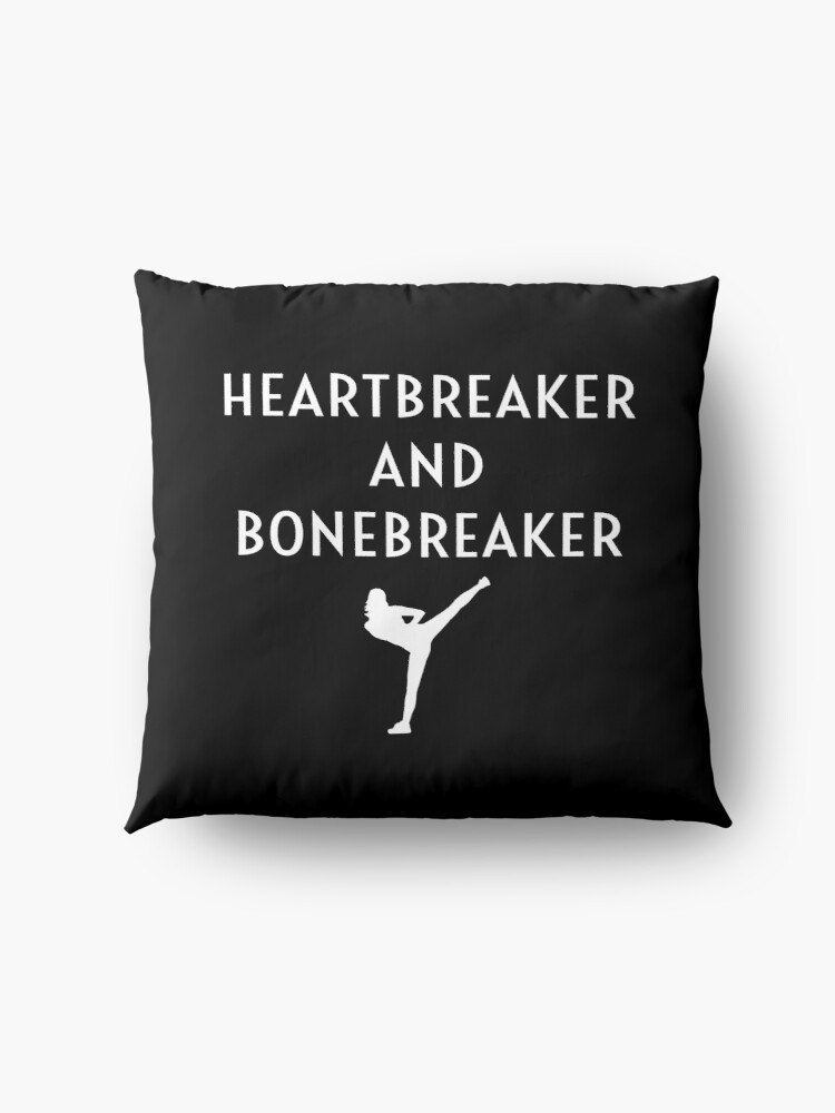 Alternative Ansicht von Heartbreaker And Bonebreaker Funny Female Karate Student Girl Women's Gift Bodenkissen