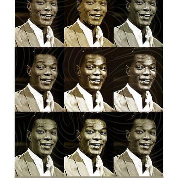 Jazz Heroes Series - Nat King Cole by MoviePosterBoy