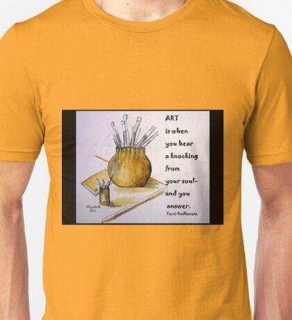 Coffee Art on a card! T-Shirt
