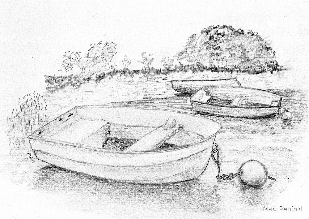 Drawing Day 2010 Dinghies by Matt Penfold