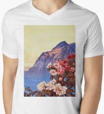 Kanata Düfte T-Shirt mit V-Ausschnitt
