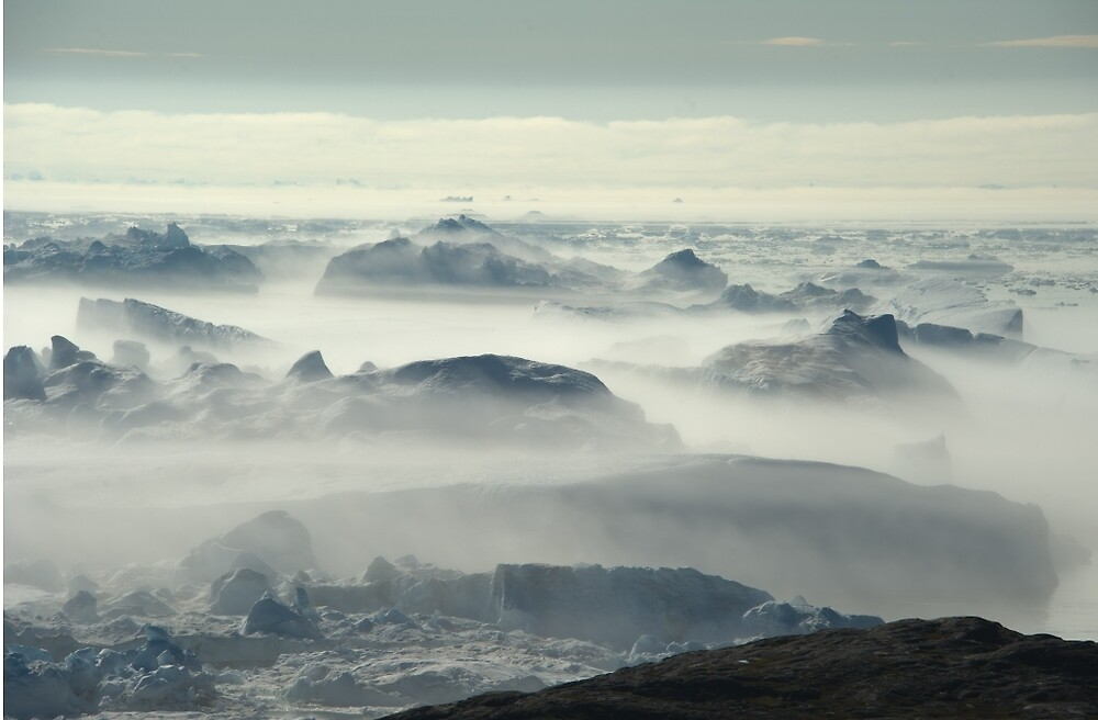 Ilulissat Isfjord by Mark Prior