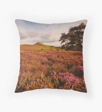 Hawnby Hill, Hawnby, North Yorkshire Moors Throw Pillow