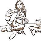 T-Shirt Joan Baez by Airmatti