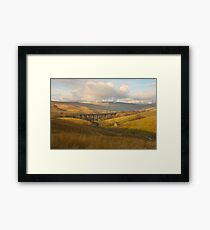 Dent Head Viaduct, Dentdale, Yorkshire Dales Framed Print