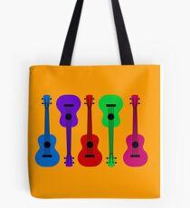 Ukulele - colours Tote Bag