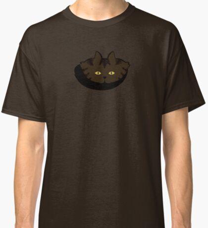 Mocha Brown Tabby Cat Cattern [Cat Pattern] Classic T-Shirt