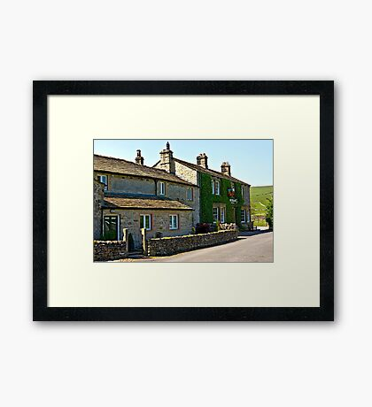 The Falcon Inn - Arncliffe Framed Print