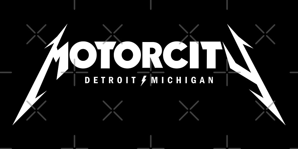 Motor City Metal by thedline