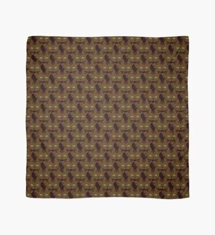 Coffee Brown Tabby Cat Cattern [Cat Pattern] Scarf